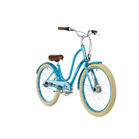 Electra Townie Balloon 7i EQ Stadsfiets Dames 26 turquoise